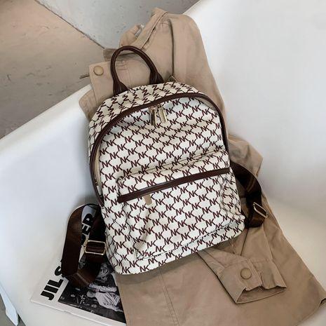 Autumn ladies bags new texture large capacity backpack simple handbag Korean backpack NHJZ263393's discount tags