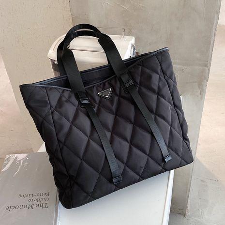 Large-capacity shoulder bag nylon cloth diamond handbag tote bag NHLH263418's discount tags