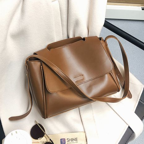 Women's large-capacity bags autumn and winter fashion one-shoulder messenger portable tote bag NHLH263434's discount tags