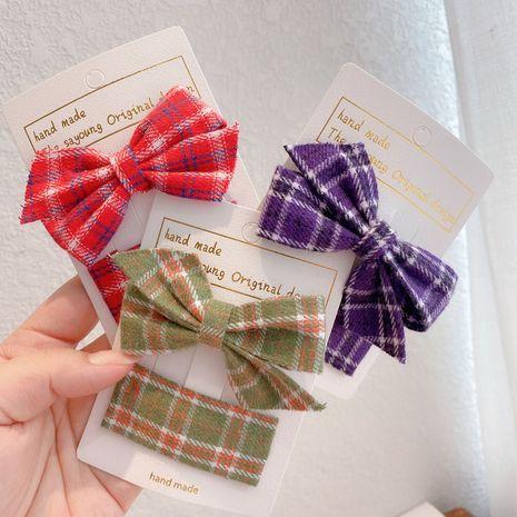 Children's bow headdress Korean princess bangs clip side clip hairpin for women NHCQ263533's discount tags