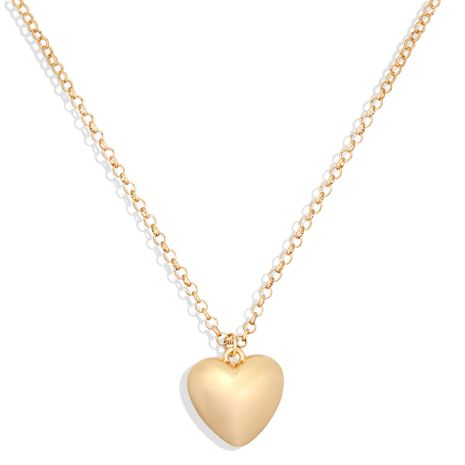 exaggerated heart-shaped clavicle chain punk retro peach heart pendant necklace NHJQ263578's discount tags