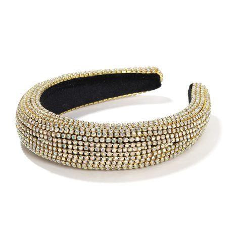 Bandeau en strass baroque éponge de style coréen accessoires de cheveux de diamant coloré NHJQ263584's discount tags