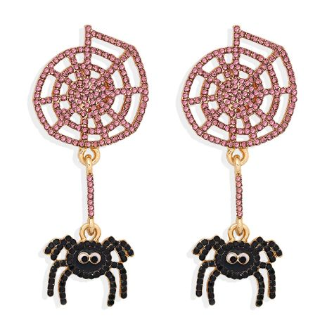 spider exaggerated insect fun gothic earrings for women Halloween gifts wholesale NHJQ263587's discount tags