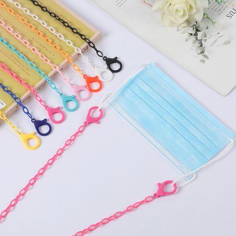 Nuevo hain acrílico para niños cadena de gafas cordón antideslizante cuerda antideslizante color caramelo NHCL263614's discount tags