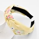 New Mori Knotted Retro Flower Headband Korean Girls Comfortable Hair Pressed Hair Accessories  NHCL263624
