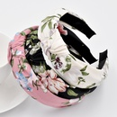 Retro mori knotted big flower headband girls wash face simple flower hair accessories NHCL263626