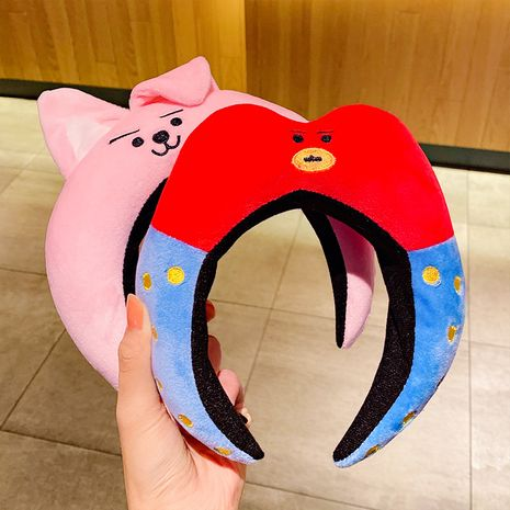 cute cartoon funny non-slip pressure hair dinosaur fish headband hairpin NHNA263780's discount tags