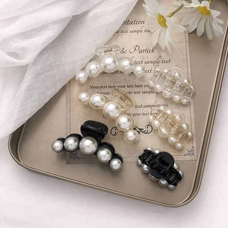 New pearl Korean girls elegant bathing shark clip hair accessories NHNA263774's discount tags