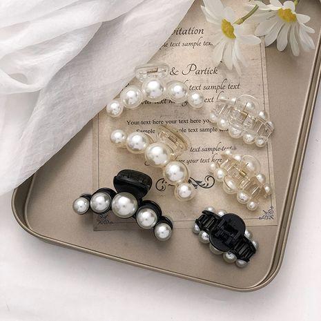 New pearl Korean girls elegant bathing shark clip hair accessories NHNA263774's discount tags