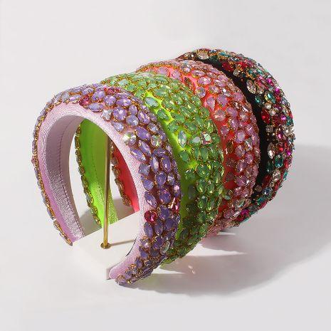 Fashion new retro thick sponge baroque headband hair accessories NHMD263863's discount tags