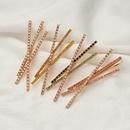 Offre spciale nouvelle pince  cheveux en alliage de diamant clout de diamant NHOA263945