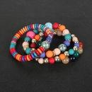 Ensemble de bracelet de style bohme perl damour en pierre naturelle NHCT264069