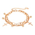 NHOP1152905-【1113】Gold-bracelet