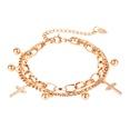 NHOP1152906-【1113】Steel-color-bracelet