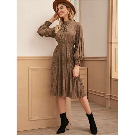 Spring and autumn new elegant beach dress NHJG264551's discount tags