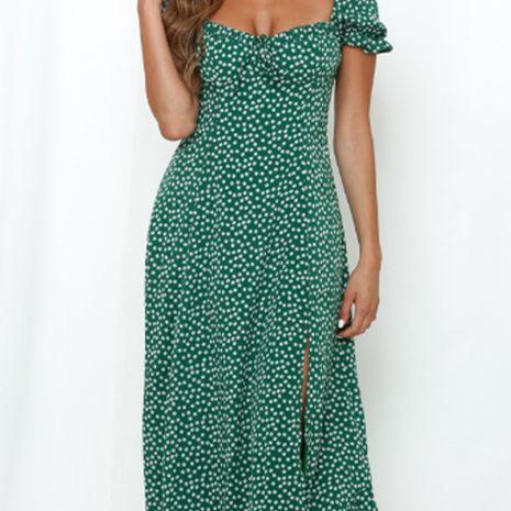 Jupe longue sexy à fente imprimée à un cou pour femmes d'été NHEK264553's discount tags