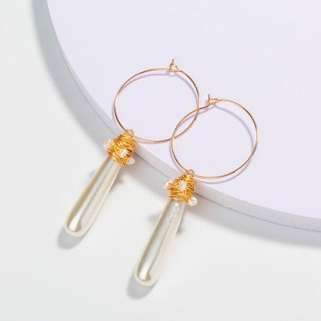 boucles d'oreilles en perles baroques de forme spéciale NHAN252572's discount tags