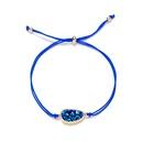 hot sale golden crystal fashion irregular natural stone alloy bracelet  NHAN252592
