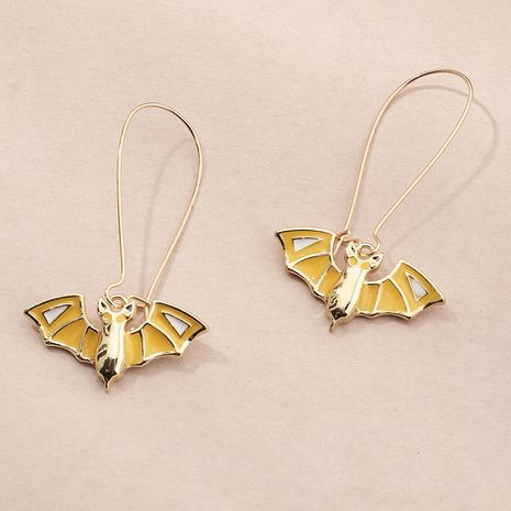 holiday Funny and fun Halloween earrings dripping bat earrings wholesale NHNZ252623's discount tags