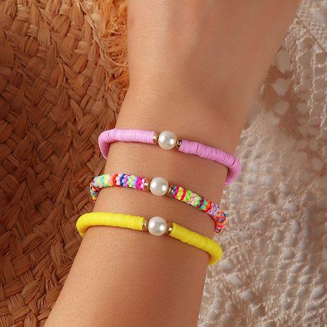 nouveau bracelet en céramique souple de couleur tout assorti à la main à la main pour les femmes NHNZ252626's discount tags