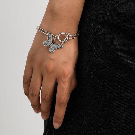 mode nouveau bracelet papillon en alliage simple rétro pour les femmes NHXR252647's discount tags