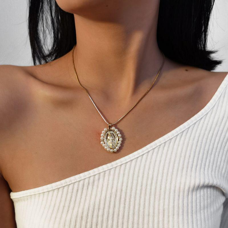 Fashion women's fine  pearl necklace wholesale NHXR252649