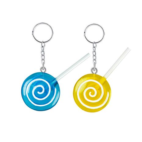 DIY resin  simulation lollipop keychain wholesale NHAP252674's discount tags