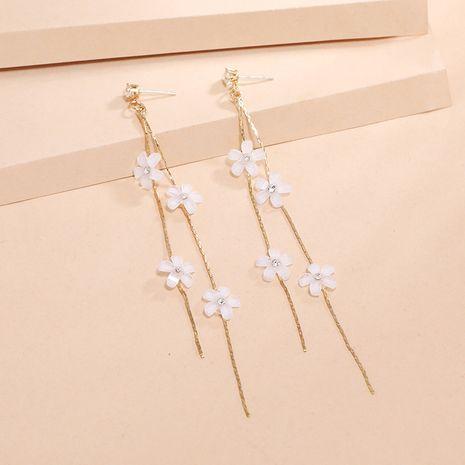 Mode fée longue mince coréenne nouvelles boucles d'oreilles acylic fleur de gland sauvage pour les femmes NHKQ252750's discount tags