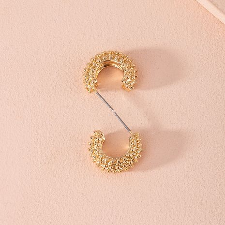 Korea new C-shaped exaggerated trend alloy earrings for women wholesale NHAI252767's discount tags