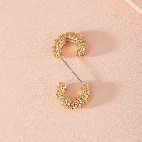 Corée nouvelles boucles d'oreilles en alliage tendance exagérée en forme de C pour les femmes en gros NHAI252767's discount tags