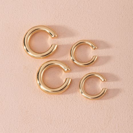 new ear bone clip earrings simple no pierced ear clip wholesale NHAI252775's discount tags