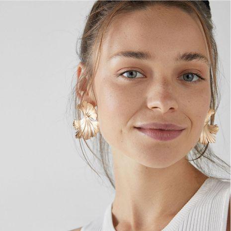 Mode Ginkgo Leaf Nouvelles boucles d'oreilles en alliage de fleurs rétro pour les femmes en gros NHAI252786's discount tags