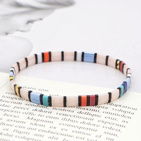 fashion trend bohemian handmade tila beaded couple bracelet wholesale NHGW252805's discount tags