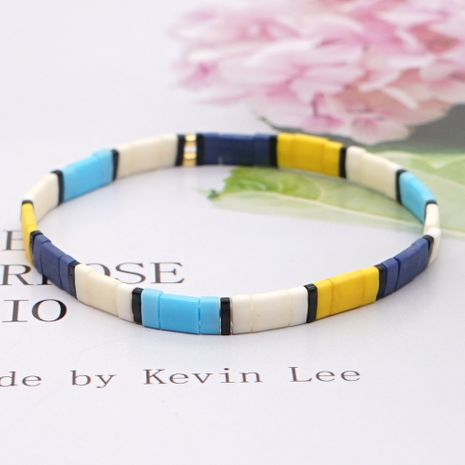 fashion bohemian tila beaded handmade couple bracelet jewelry wholesale NHGW252808's discount tags