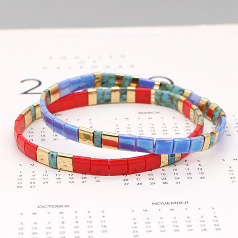 fashion tila beaded Bohemian beach style handmade couple bracelets wholesale NHGW252810's discount tags