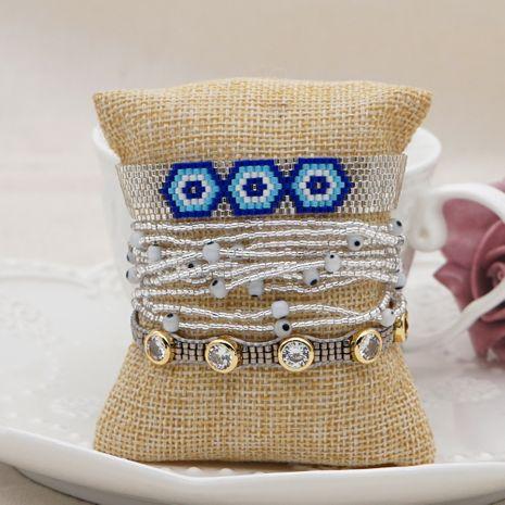 Fashion ethnic style imported Miyuki rice beads hand-woven geometric bracelet  NHGW252812's discount tags