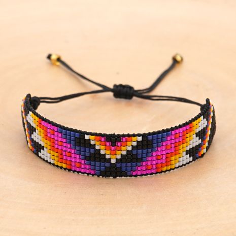 fashion antique rice beads woven demon eyes ethnic style women's bracelet  NHGW252802's discount tags