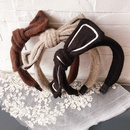 New Koreas allmatch woolen bowknot  new womens  headband  NHHI252916