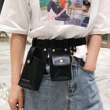 new waist bag shoulder messenger chest bag fashionable belt mobile phone bag wholesale NHLH252934's discount tags