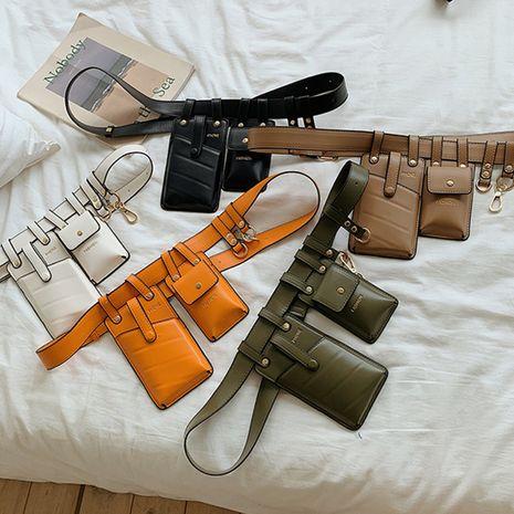 Korean new fashion chest bag shoulder messenger bag wholesale NHLH252941's discount tags