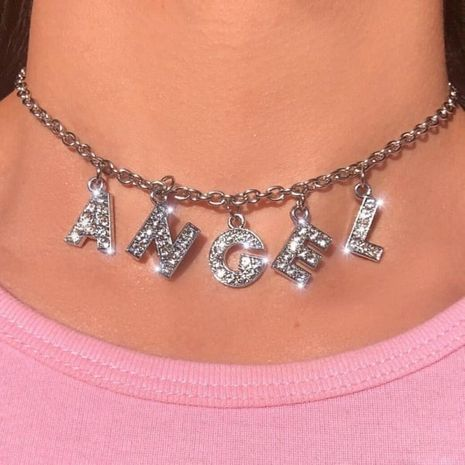 Fashion  personality  letter necklaces  NHAJ252943's discount tags