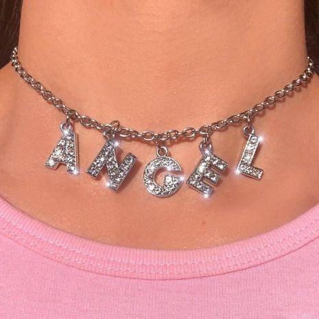 Collares con letras de personalidad de moda NHAJ252943's discount tags