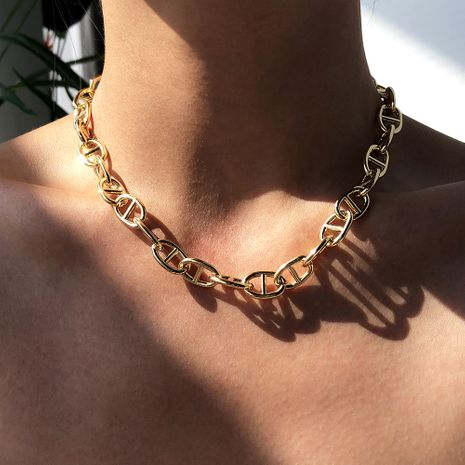 fashion  hip-hop  hot-selling  alloy women's necklace  NHMD252957's discount tags