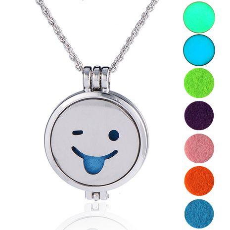 hot-selling luminous  long sweater chain luminous DIY emoticon bag pendant necklace NHAN252991's discount tags
