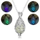 la mode peut ouvrir le collier pendentif goutte de perle de nuit toile lumineuse creuse NHAN252999