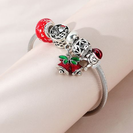 Christmas line Christmas small bell bracelet wholesale nihaojewelry NHPS253029's discount tags