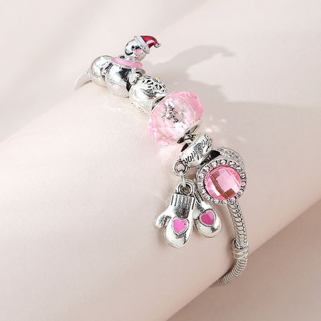 Christmas line fashion snow doll bracelet wholesale nihaojewelry NHPS253038's discount tags
