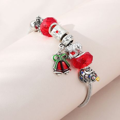 Christmas sweet fashion creative Christmas bell bracelet wholesale nihaojewelry NHPS253039's discount tags