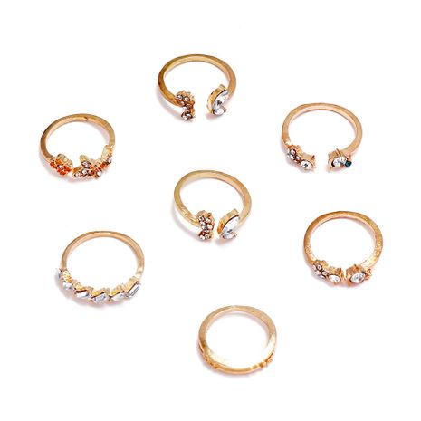 fashion creative ring set wholesale nihaojewelry NHPS253065's discount tags