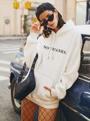 Mode Herbst neue Damen Kapuze lssig plus Gre Pullover NHSN264193